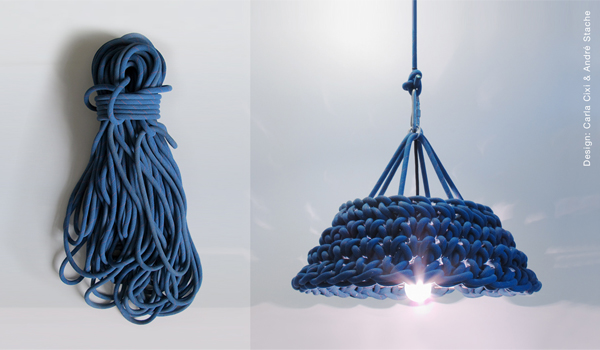 climbing,rope,crochet,lamp,climbingrope,kletterseil,häkeln,leuchte,upcycling,rebuild,carla cixi,andre stache