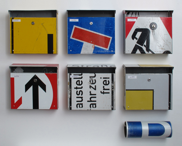 repost,boxen,re post,briefkasten,upcycling,reuse,street sign,straßenschild,post box,andre stache,foto vesko goesel