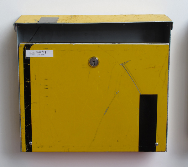 repost,umleitung,re post,briefkasten,upcycling,reuse,street sign,straßenschild,post box,andre stache,foto vesko goesel