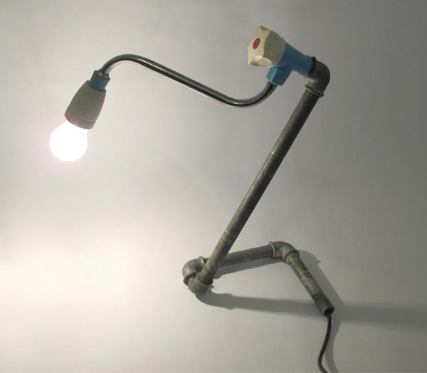 wasserhahn leuchte,water tap light,andre stache,re use,design,licht,leuchte,xas14,berlin