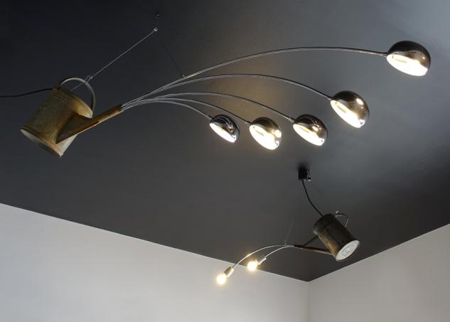giesskanne,lampe,watering can,lamp,giesskannenlampe,andre stache,foodamentalist,temporary kitchen,sonnenallee 133,berlin,upcycling,art,design,1