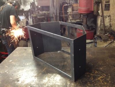 flat screen,steel housing,abdeckung flatscreen,van houtte und stache design