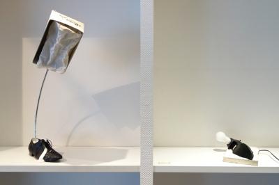 die idee einer leuchte_schuh leuchte_schuh karton_andre stache_änderungen aller art_foto vesko gösel