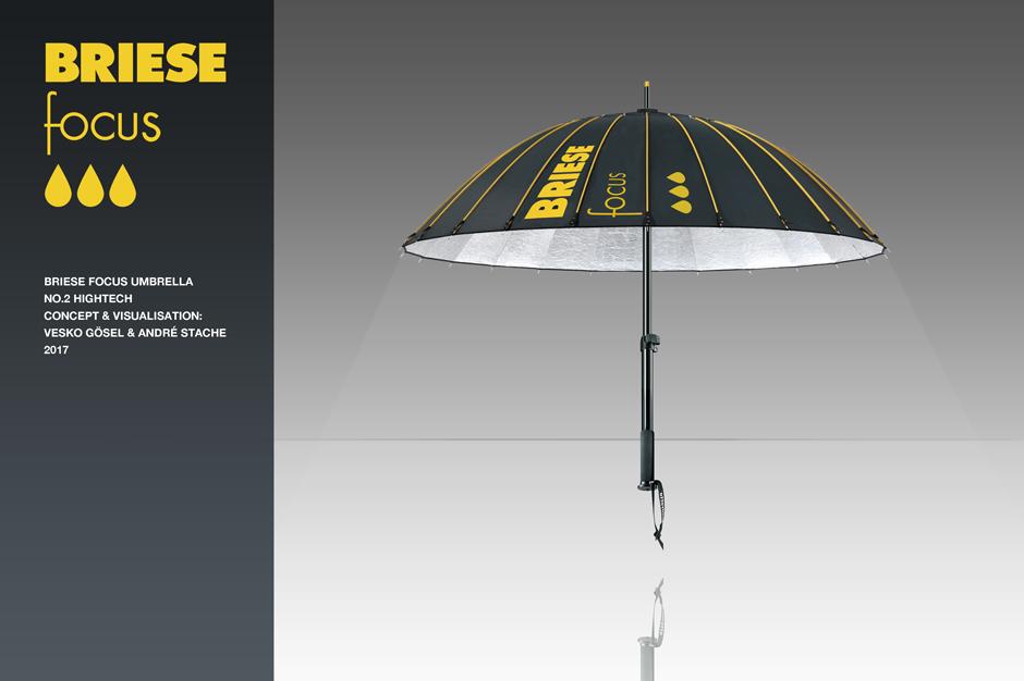 Briese focus,umbrella,regenschirm,idee,rendering,idea,vesko gösel,andre stache,hightech