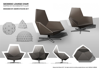 geodesic,loungechair,conceptdesign,conceptsketch,studioandrestache